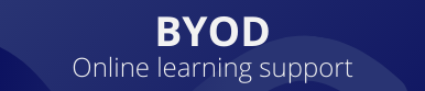 BYOD Online learning support